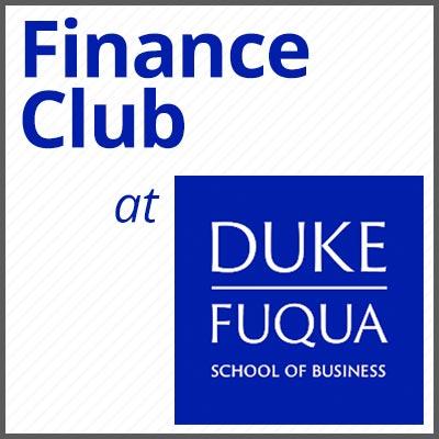 Finance Club at Fuqua Logo